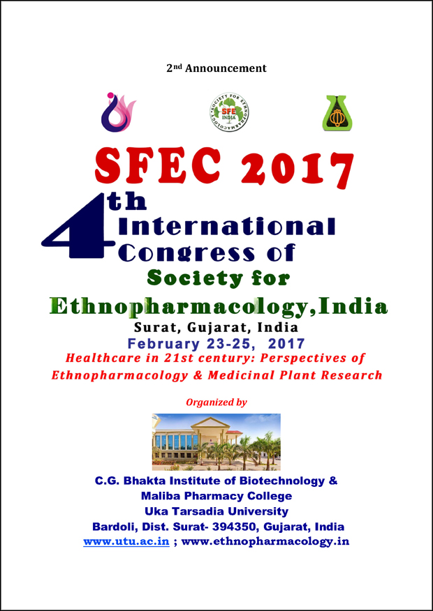 4th International Congress of the Society for Ethnopharmacology