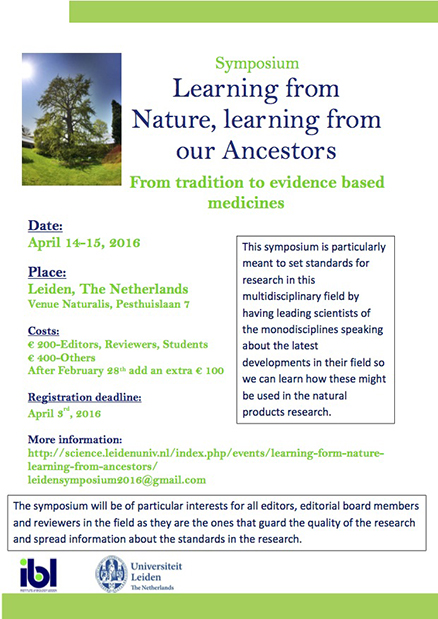 Symposium learning from nature